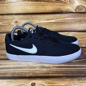 NEW Nike SB Zoom Stefan Janoski Canvas Black Shoes